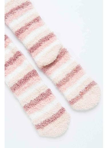 Penti Penti 2'li Pinky Çok Renkli Kadın Soket Çorap Renkli